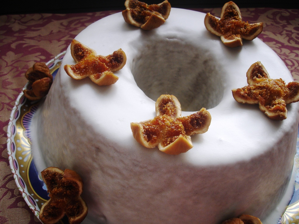 """Bolo de Figo - passatempo """"Coisas doces para saborear até ao dia de Reis"""""""