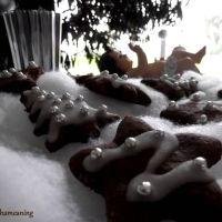 Brown and White Christmas