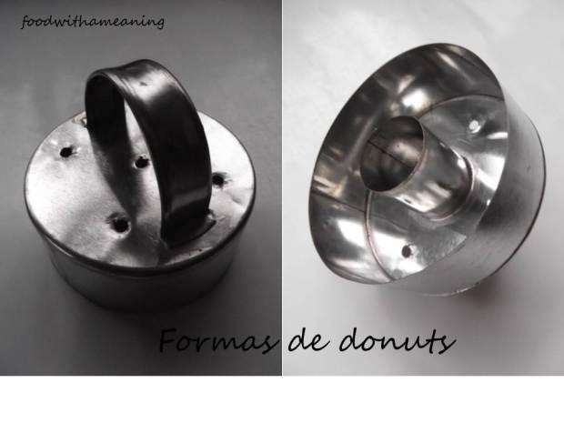 formas de donuts