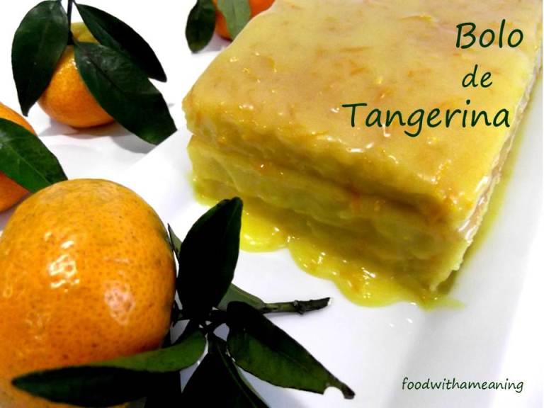 bolo de tangerina