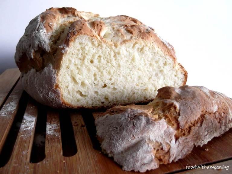 Pão Rústico de Iogurte Natural