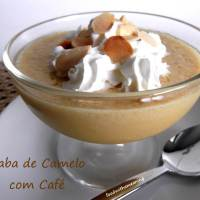 Baba de Camelo com Café