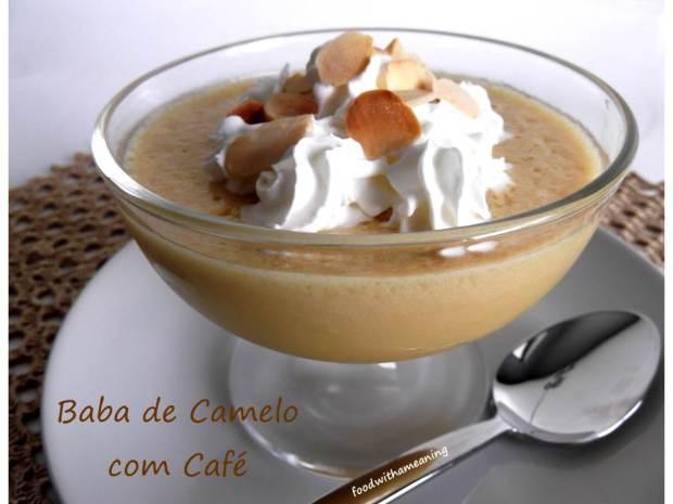 Baba de camelo light com café_foodwithameaning