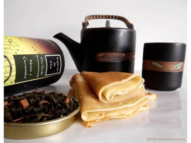 Crepes de chá verde, nata e caramelo_foodwithameaning