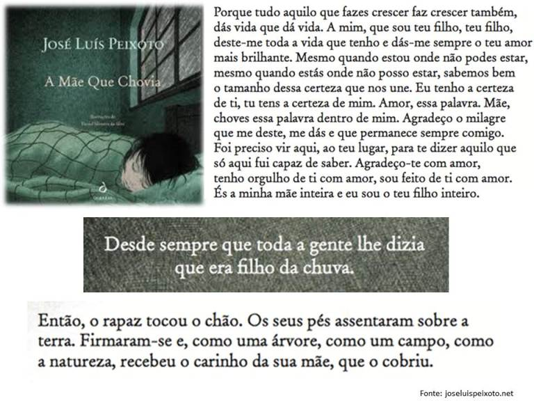 A mãe que chovia_José Luís Peixoto