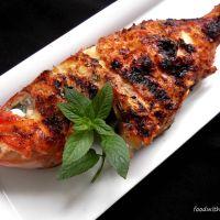 Um grelhado no 1º dia de verão...Boca Negra com arroz de beterraba e cenoura