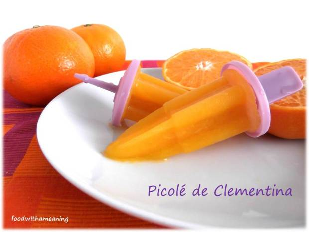 Picolés de Clementina