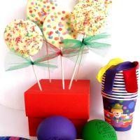Lollipops com e para os mais pequenos
