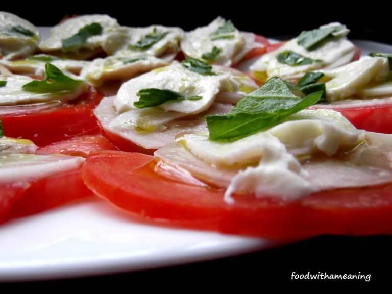 salada de tomate à italiana