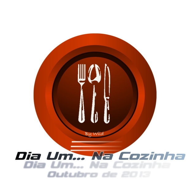 Logotipo Dia Um... Na Cozinha Outubro 2013
