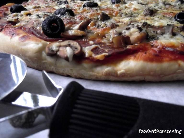 piza de peperoni