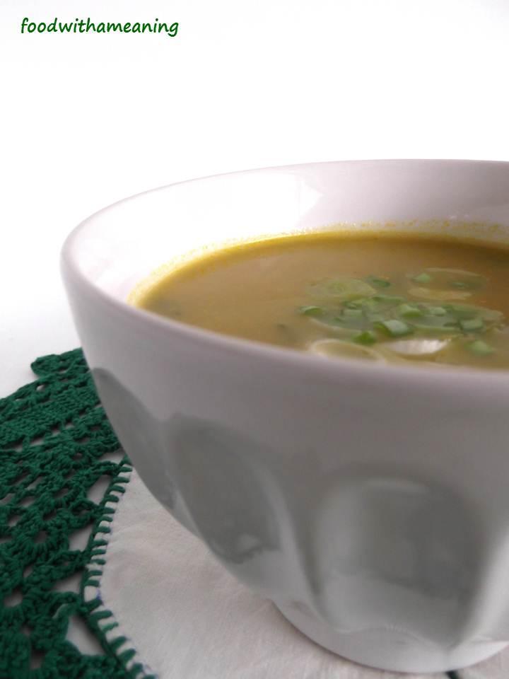 sopa de cebolo e chuchu
