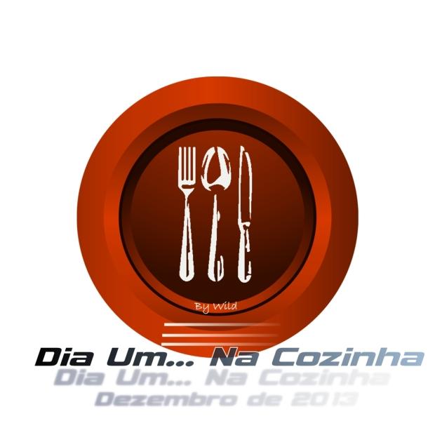 Logotipo Dia Um... Na Cozinha Dezembro