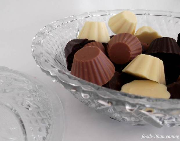 Bombons de três chocolates_foodwithameaning