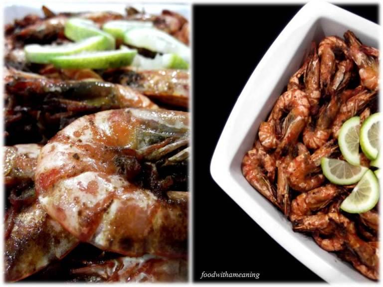 camarão com alho e manteiga_foodwithameaning
