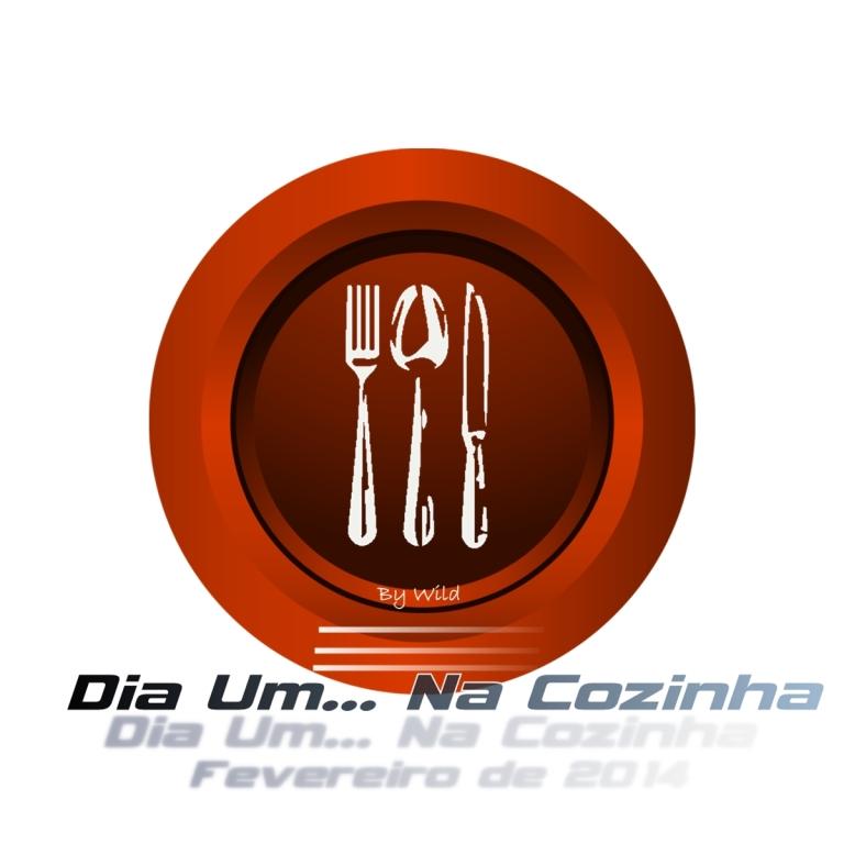 Logotipo Dia Um... Na Cozinha Fevereiro 2014