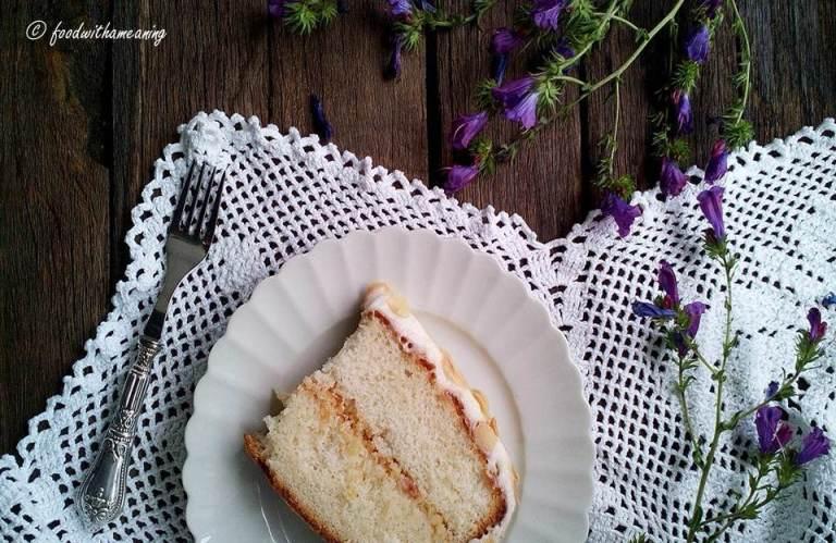 angel's cake de amêndoa