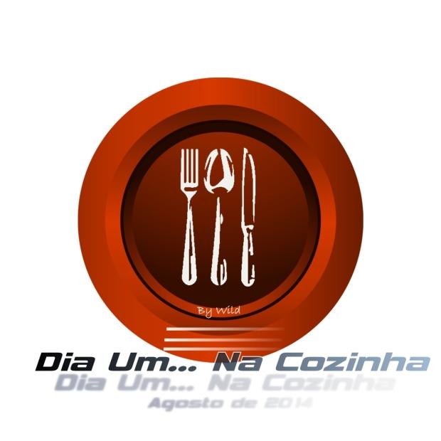 Logotipo Dia Um... Na Cozinha Agosto 2014