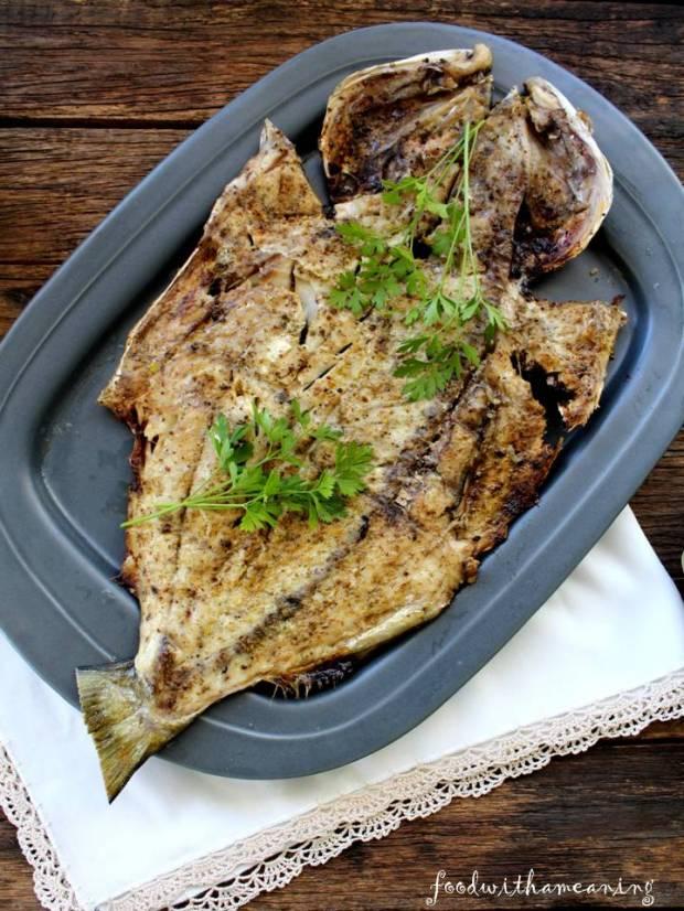 anchova grelhada