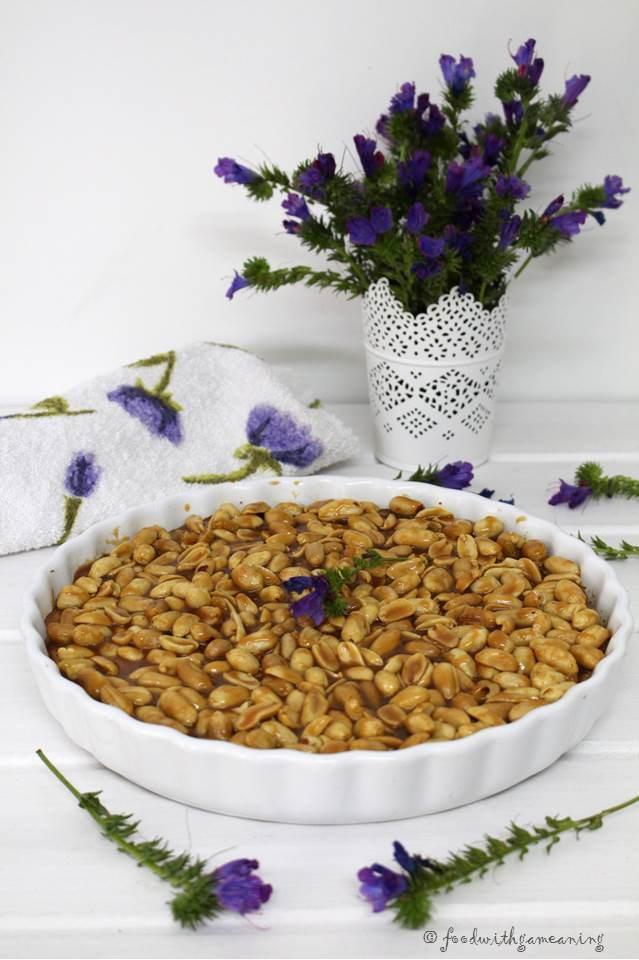 tarte de amendoim