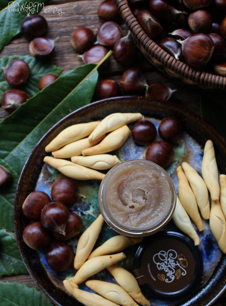 compota de castanha Sweet Castanea