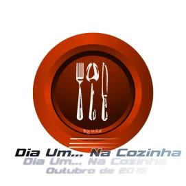Logotipo Dia Um... Na Cozinha Outubro 2015