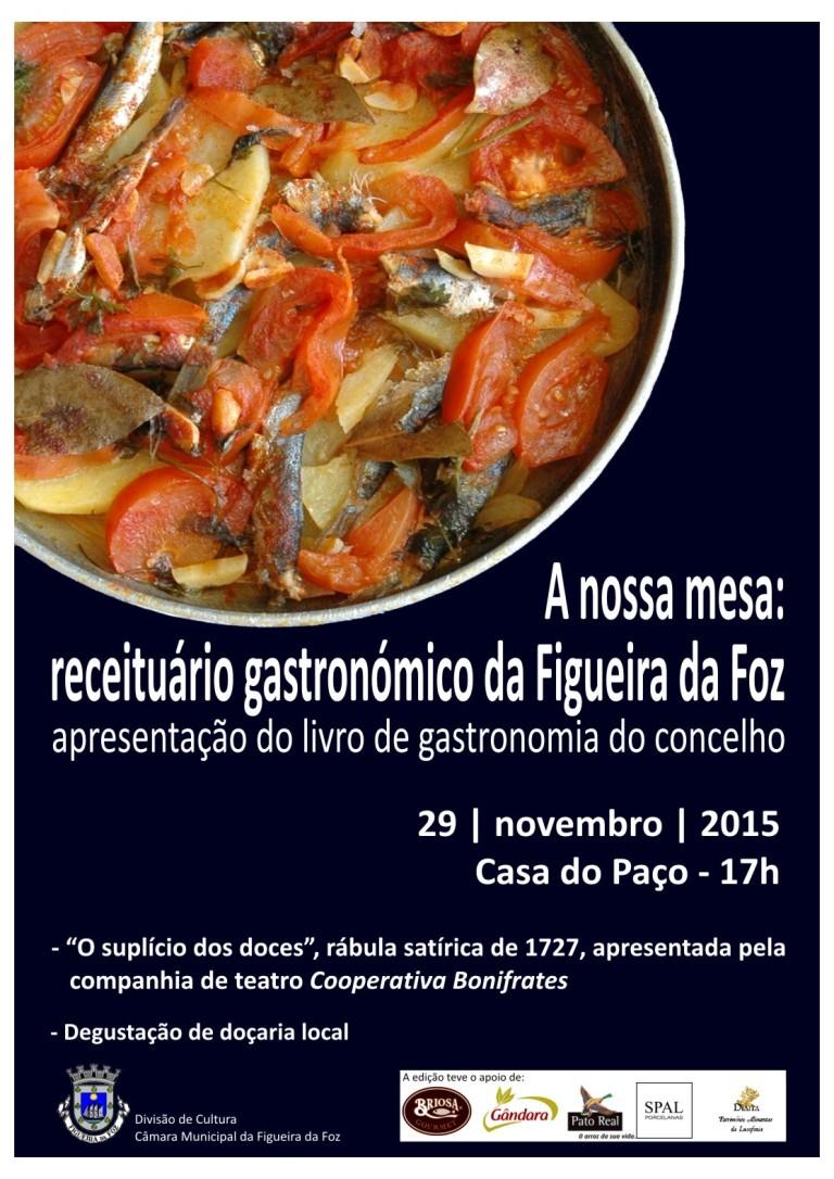 Cartaz livro Gastronomia net