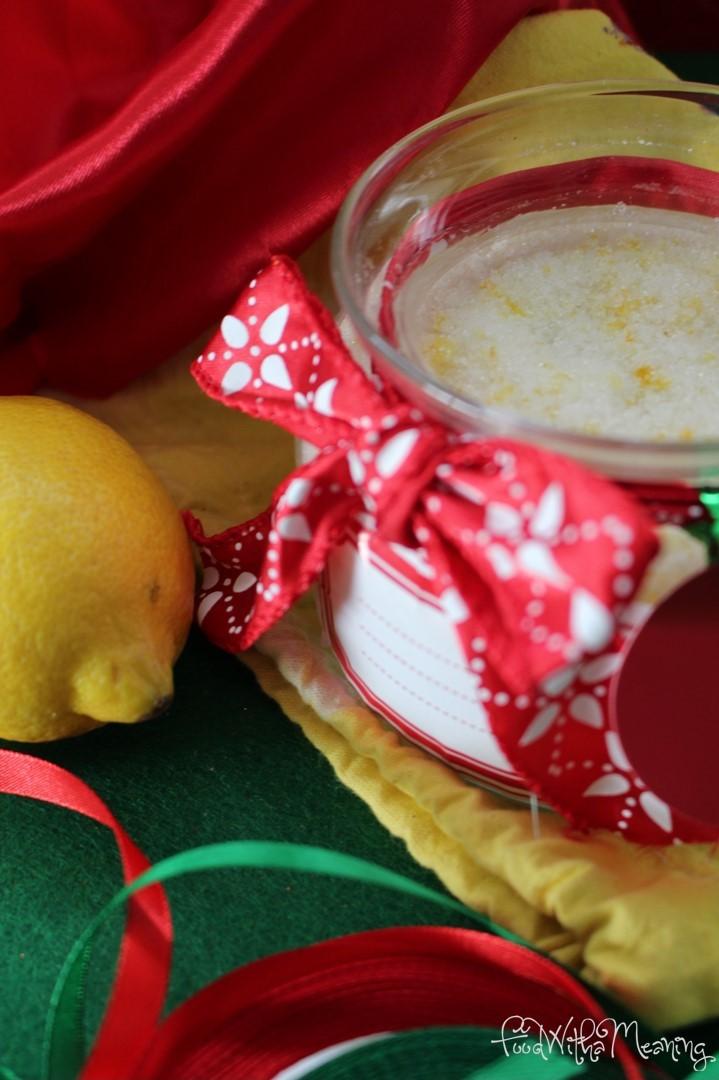 Açúcar aromatizado com limão_foodwithameaning