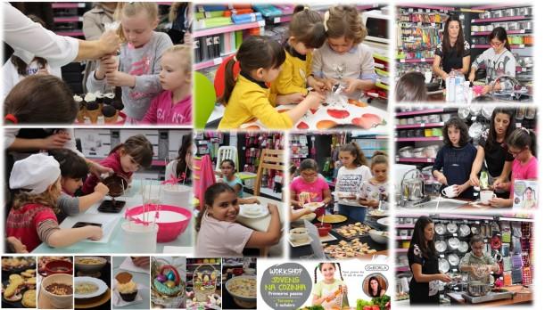 workshops com crianças