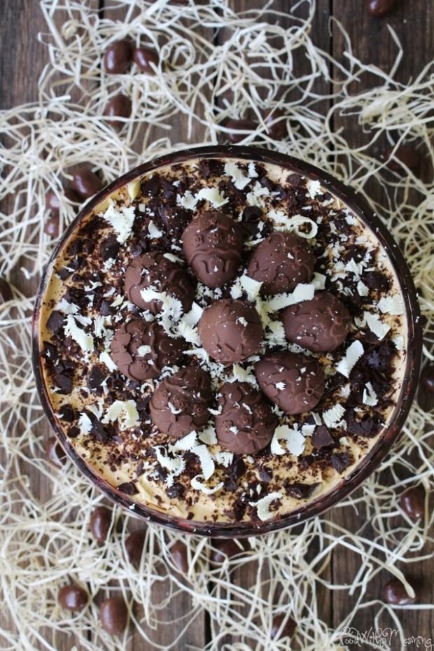 Pudim de Café, Bolacha e Chocolate