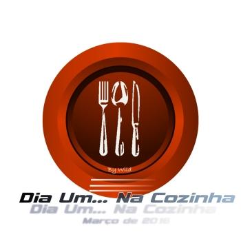 Logotipo Dia Um... Na Cozinha Março 2016