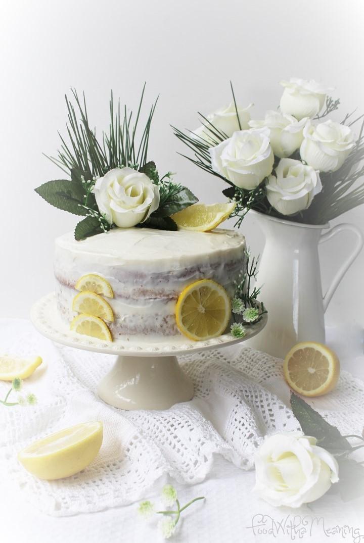 Naked Cake de Limão com Buttercream
