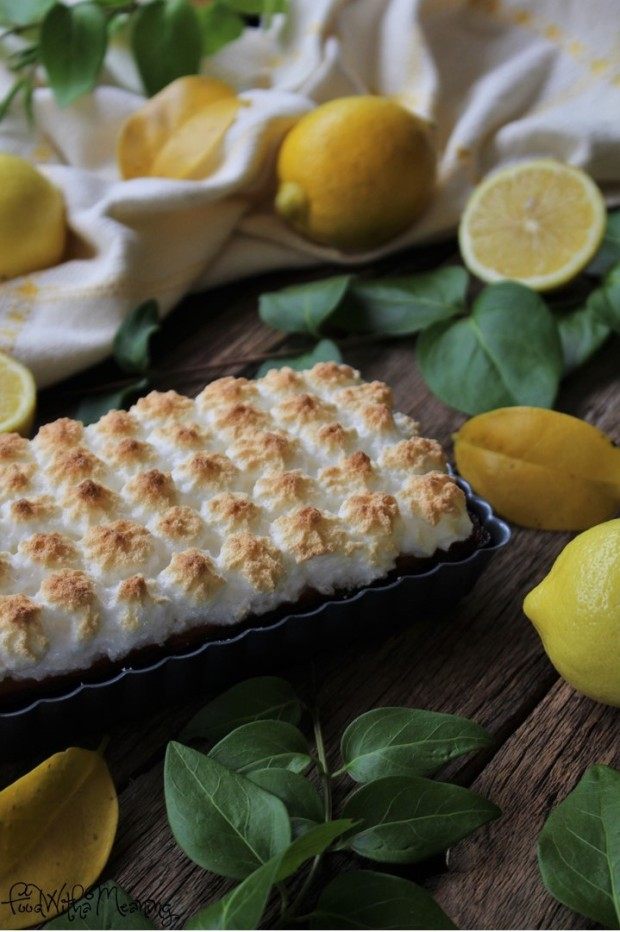tarte merengada de limão