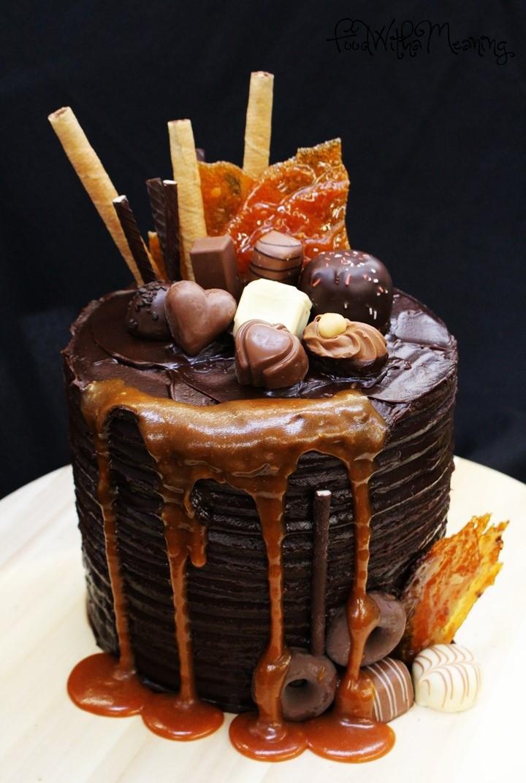 Mud naked cake