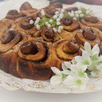 Folar Folhado em Rosas...Dia Um...Na Cozinha