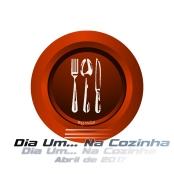 Logotipo Dia Um... Na Cozinha Abril 2017