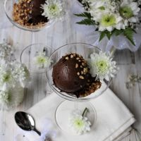 Gelado de Chocolate-Mousse