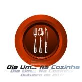 Logotipo Dia Um... Na Cozinha Outubro de 2017
