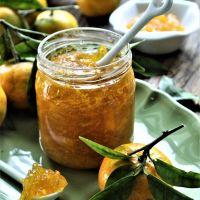 Tangerine Marmelade...um aproveitamento das cascas das tangerinas