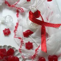 Gomas lollipop de morango ...um entretenimento de férias para os mais pequenos