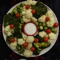 Coroa de legumes