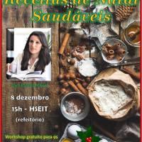 Workshop Receitas de Natal Saudáveis...bolo de Batata-Doce Nozes e Especiarias