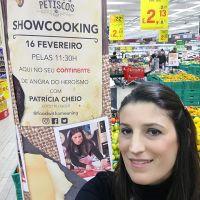 Showcooking Tapas e Petiscos na Feira de Queijos, Enchidos e Vinhos Continente