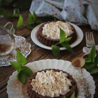 Tarteletes de Chocolate Merengadas