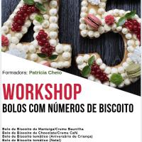 Próximo Workshop...Bolos de Números em Biscoito
