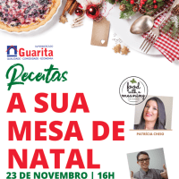 Showcooking Mesas de Natal...23 de novembro...Supermercado Guarita - Terra do Pão