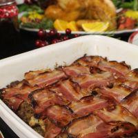 Recheio de Castanhas, Salsichas frescas e bacon