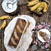 Pão de banana (Paleo/sem glúten)