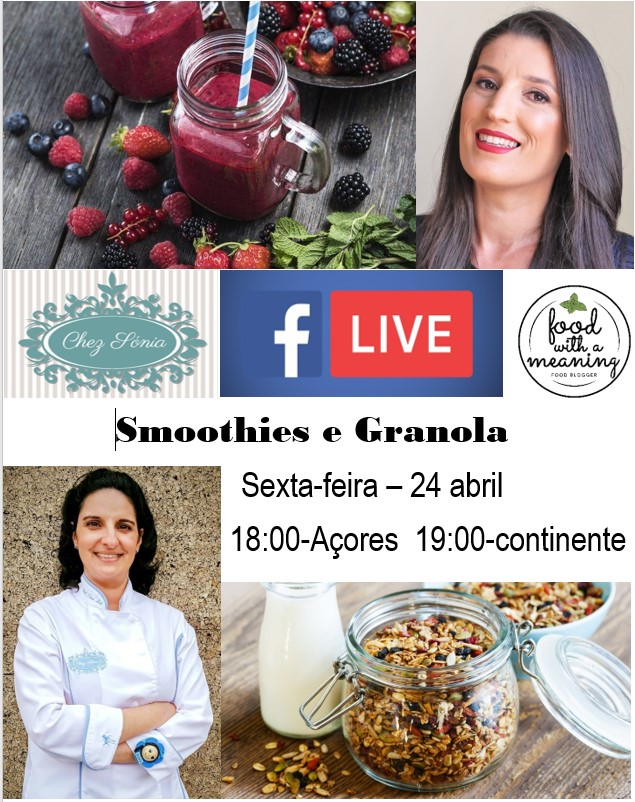 smoothies e Granola