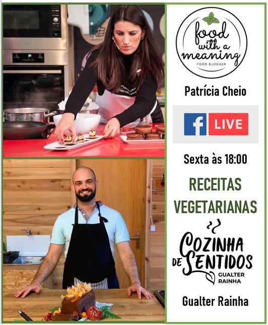 cartaz direto Receitas Vegetarianas